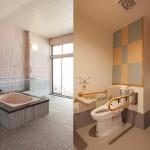 1階浴室、トイレ