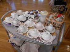 コーヒーの他、ココア、 紅茶も準備しています。